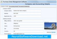 Purchase Order System Management