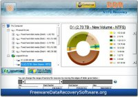 Скриншот к файлу: Freeware NTFS Files Recovery
