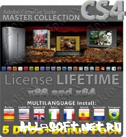 Скриншот к файлу: Adobe Creative Suite 4 Master Collection Final Retail (7 DVDs) - License Lifetime - Multilanguage